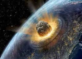 модель зіткнення нашої планети з гігантським метеоритом